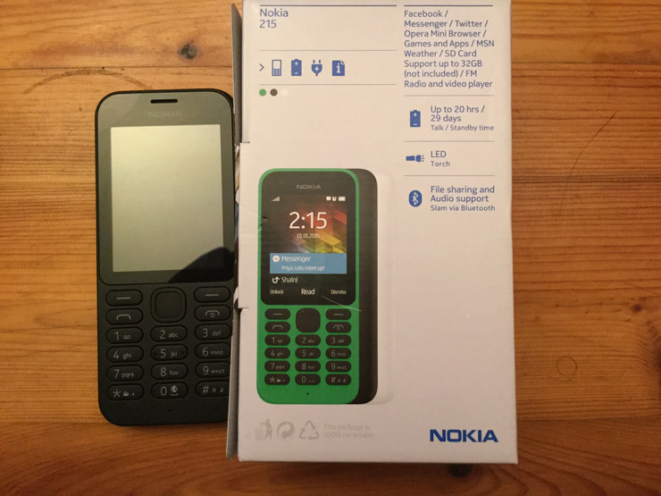 A New Phone The Nokia 215
