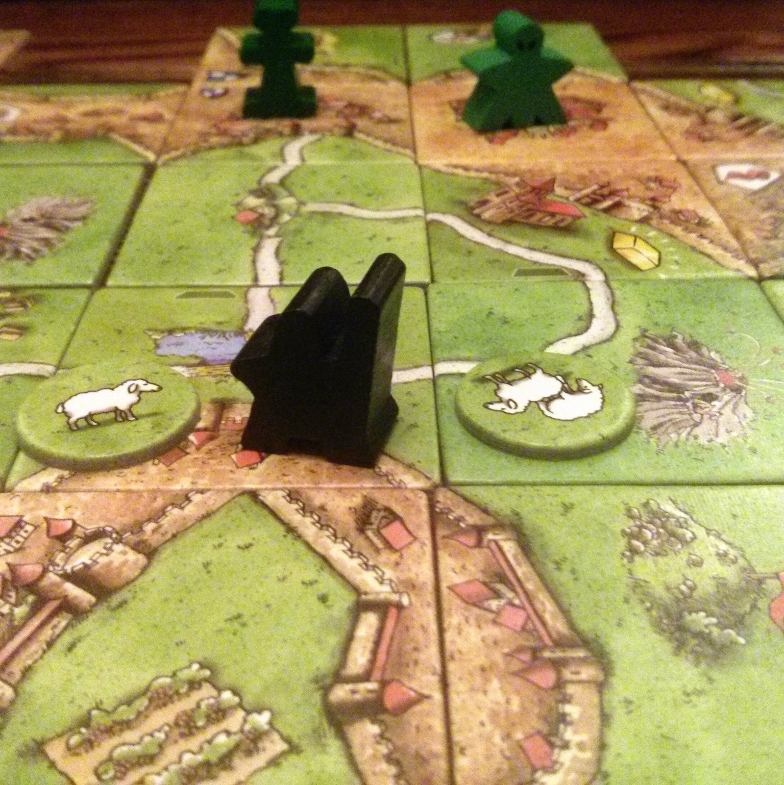 Hills and Sheep Carcassonne Expansion Review